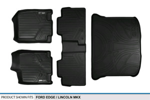 Maxliner floor and cargo liners for Ford Edge and Lincoln MKX