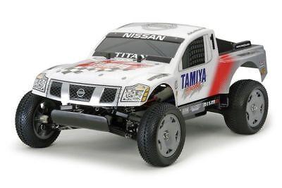 Tamiya 300058511 RC Nissan Titan Racing Truck (DT-02) Bausatz 1:12
