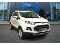 2017 Ford Ecosport 1.5 Tdci 95ps Titanium 5dr ONE OWNER + SERVICE HISTORY Manual