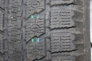 Set of 4 winter tires, used for 4 seasons on a Chevy Equinox.