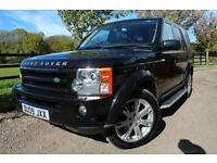 Land Rover Discovery 3 2.7TD V6 auto 2009 HSE 7 SEATER FLRSH + HUGE SPEC