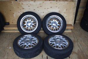 (4) Wheels and Tires for Honda Acura and others 4 x 100