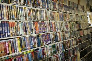 200 VHS Movies for Sale