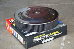 "14"" Moroso Chrome Air Cleaner - Used Kawartha Lakes Peterborough Area image 1"