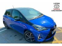 Toyota Yaris 2018 1.5 Hybrid Red Bi-tone 5dr CVT Hatchback