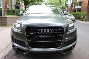 2009 Audi Q7 Sline 4x4 TOIT CUIR NAVI MAG 20'' 7 Places 8 Pneus