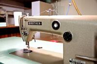 Vintage Industrial Brother Sewing Machine