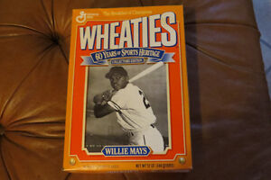 Full Box Wheaties Sports Heritage Collectors Edition-Willie Mays