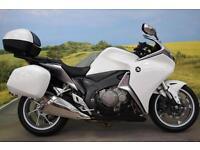 Honda VFR1200 **Heated Grips, Panniers, ABS, Top Box**