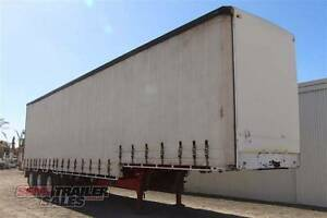 2001 Maxitrans 45FT Drop Deck Curtainsider Semi Trailer-SN#160203 Lockwood Bendigo City Preview