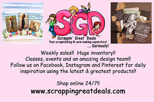 Scrappin' Great Deals Customer Garage Sale