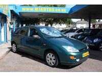 2001 Y FORD FOCUS 1.6 ZETEC 5DR PART-EX TO CLEAR DRIVES WELL MOT UNTIL MARCH 17