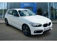 2018 BMW 1 Series 120D SPORT 5DR - AIR CON, AUTO HEADLIGHTS+WIPERS, FRONT ARMRES