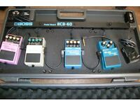 Boss Pedals and Board