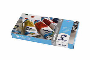 NEW Talens Van Gogh Watercolor paint, 10 Tube Set