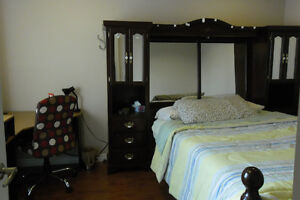 clean bright furnished room min five nights stay