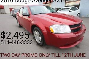2010 Dodge Avenger SXT ***PROMOTION***