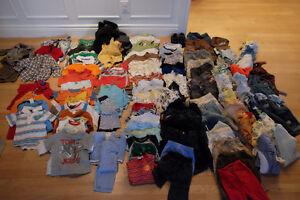 lot de vêtements pour garçon 6 à 12 mois