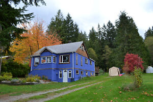 Summer house for rent in Powell River, BC 1350$/month