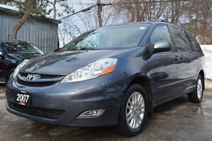 2007 Toyota Sienna LE AWD Leather DVD- No Accidents - Certified!