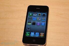 Black iPhone 4 16GB Unlocked All Networks