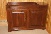 Solid Pine Dry Sink / Cabinet