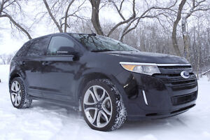 2014 Ford Edge Sport SUV LEATHER/NAV/SYNC/ LOW KMS $32,821