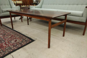 Mid century Rosewood, not teak, coffee table