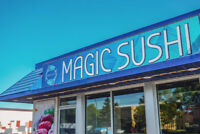JOIN MAGICSUSHI TEAM TODAY
