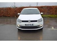 2017 VOLKSWAGEN POLO Volkswagen Polo 1.4 TDI [75] Match Edition 5dr [Navigation]