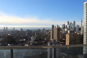 STUNNING VIEWS from 1br+den at Sherbourne & Wellesley