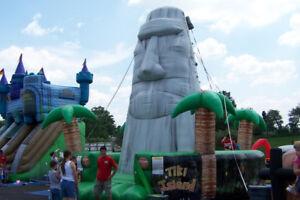 Tiki Island Inflatable Climbing Wall - for sale!