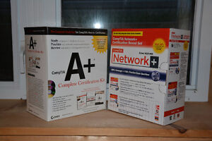 CompTIA A+ and Network+ kits