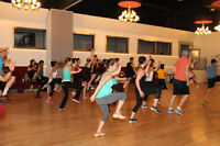 Dance Exercise and Zumba group classes