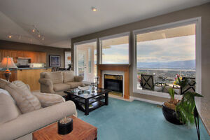 Beautiful main floor of house with lake view
