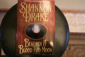 - Shannon Drake - Beneath A Blood Red Moon - (Hardcover) -