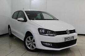 2013 13 VOLKSWAGEN POLO 1.2 MATCH EDITION 5D 69 BHP