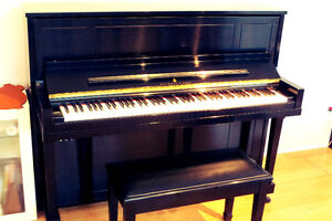 2005 Steinway & Sons upright model 1098