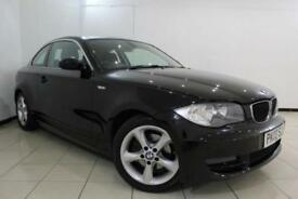 2009 09 BMW 1 SERIES 3.0 125I SE 2DR 215 BHP