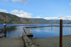 Recreation trailer and lot on Lake Cowichan