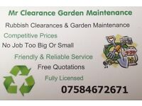 Mr Clearance Garden Maintenance