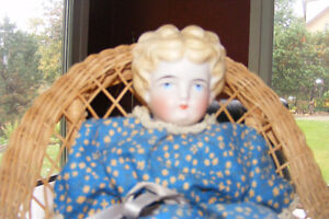 Blond Porcelain Doll (about 1925)