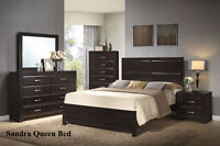 Queen Bed only Sandra $599 Contemporary,mattress sold separately