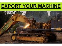 DIGGERS FOR EXPORT??? CALL - DEAD OR ALIVE