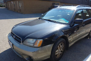 2003 Subaru Outback Ltd incl Winter+summer tires on rim $900 OBO