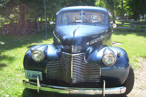 1940 CHEV 2 DOOR COACH STREET ROD ONE SWEET FAST RIDE