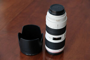 Canon 70-200mm serie L F2.8 IS mk 2