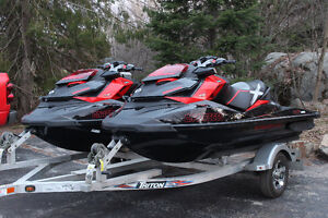 Seadoo RXPX260 on Triton Trailer Package