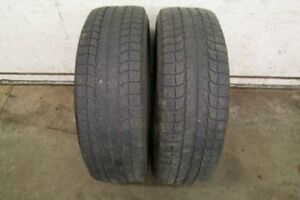 2-235/65R18 M+S MICHELIN LATITUDE WINTER TIRES