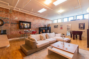 Best Location Old Montreal Loft